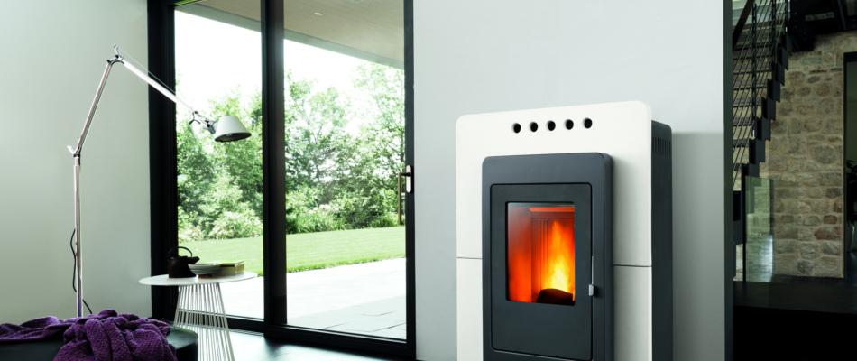 Homogene Wärme und Mehrraumbeheizung mit Pelletöfen Neu! Pelletöfen von Piazetta